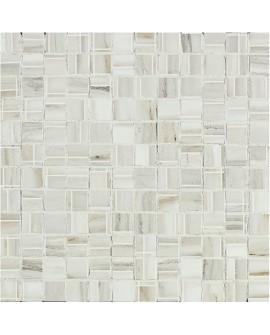 ITALGRANITI - Marmi Imperiali Wall MOSAICO WHITE 30X30 MM1030M