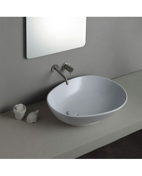 ALICE CERAMICA - LAVABO JOKER SPOON BIANCO 29130301