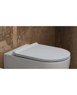 ALICE CERAMICA - SEDILE FORM BIANCO SLIM SOFT-CLOSE MC2201ES