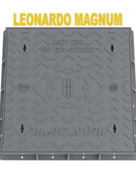 MCP SPA - CHIUSINO IN GHISA SFEROIDALE - LEONARDO MAGNUM - CLASSE D400