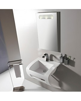 HOUSE DESIGN - LAVABO VIRGOLA SOSPESO