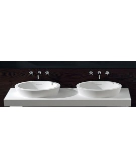 TEUCO - LAVABO DURALIGHT C-SIZE BIANCO
